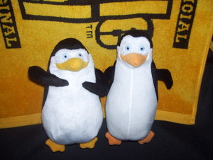 Private and Kowalski Plush