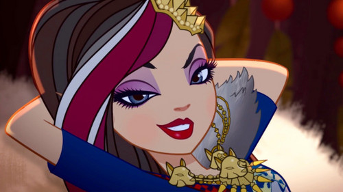 Ever After High wallpaper possibly with Anime called Ramona Badwolf