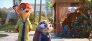 "Walt Disney Screencaps - Nicholas P. ""Nick"" Wilde & Officer Judy Hopps"