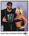 Randy Savage With Gorgeous George photo
