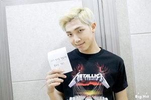 Rapmon looking swag with his Metallica t-shirt ~