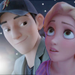 Rapunzel and Tadashi - disney-crossover icon