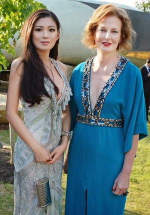 Rebecca Wang and Julia Peyton-Jones attend the 2014 Serpentine Summer Party - London