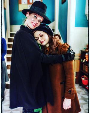 Rebecca and Emilie