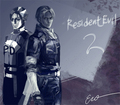 Resident Evil 2 Update - leon-kennedy fan art