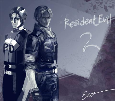 Resident Evil 2 Update Leon Kennedy Fan Art 39428587 Fanpop
