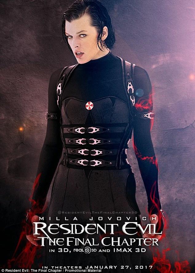 Resident Evil The Final Chapter Poster Resident Evil The Final