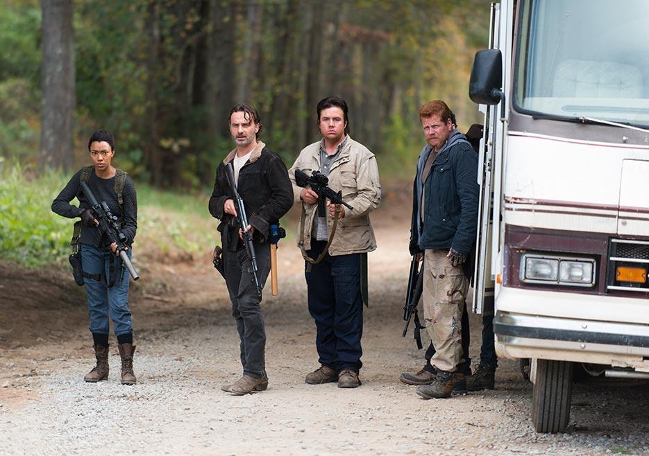 6x16 ~ Last Day on Earth ~ Rick, Eugene, Abraham & Sasha
