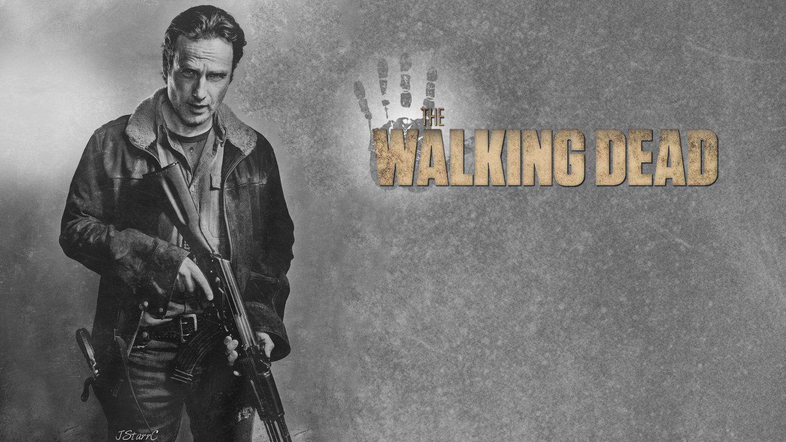 rick grimes the walking dead wallpaper 39470025 fanpop. Black Bedroom Furniture Sets. Home Design Ideas