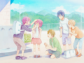 Rin, Haru, Mako, Nagi and Gou as kids - anime photo