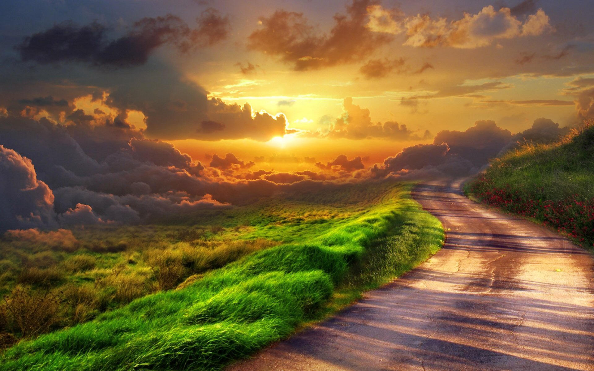 Home Wallpaper Life: Heaven Images Road To Heaven HD Wallpaper And Background