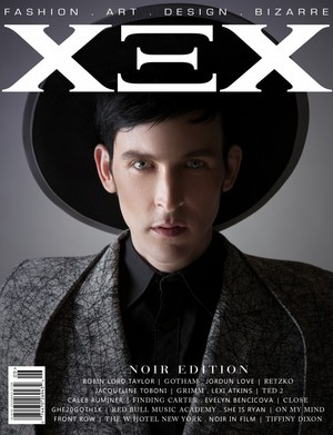 Robin Lord Taylor - XEX Magazine Cover- 2015