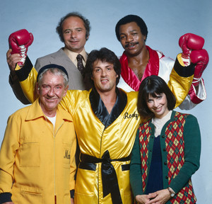Rocky and cast
