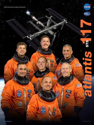 STS 117 Mission Poster