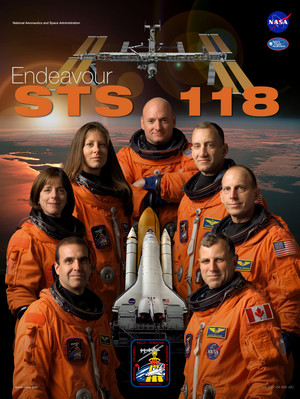 STS 118 Mission Poster