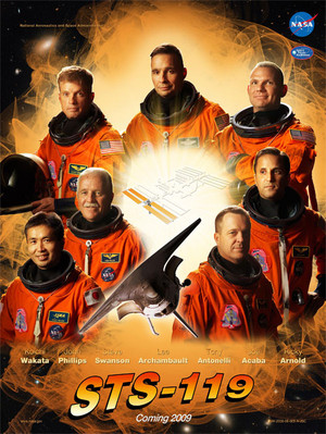STS 119 Mission Poster