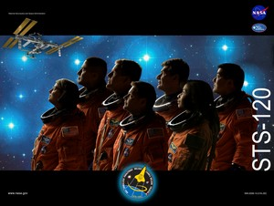 STS 120 Mission Poster