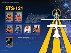 STS 121 Mission Poster