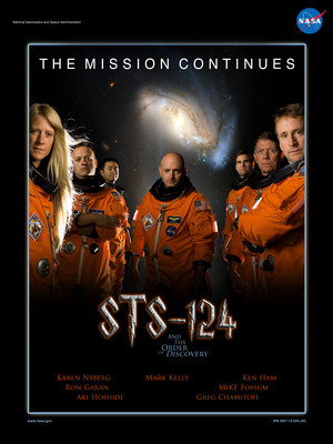 STS 124 Mission Poster