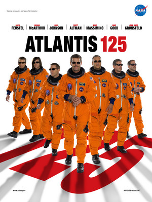 STS 125 Mission Poster