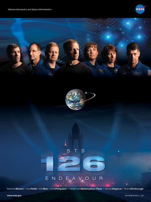 STS 126 Mission Poster