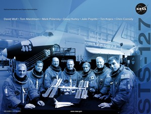 STS 127 Mission Poster