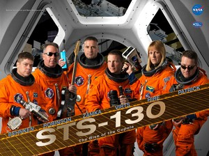 STS 130 Mission Poster