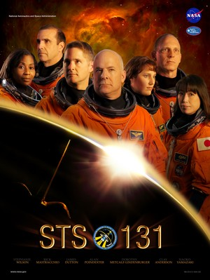 STS 131 Mission Poster
