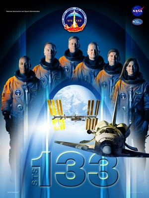 STS 133 Mission Poster