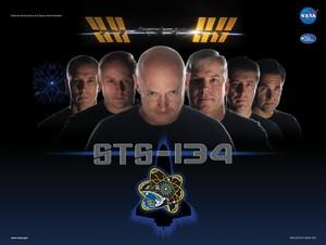 STS 134 Mission Poster