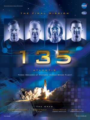 STS 135 Mission Poster