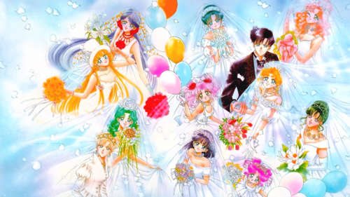 Sailor Moon Hintergrund titled Sailor Moon Sailor Stars