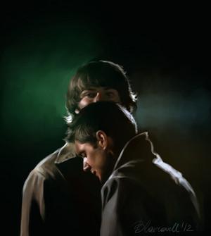 Sam/Dean Fanart - Shadow