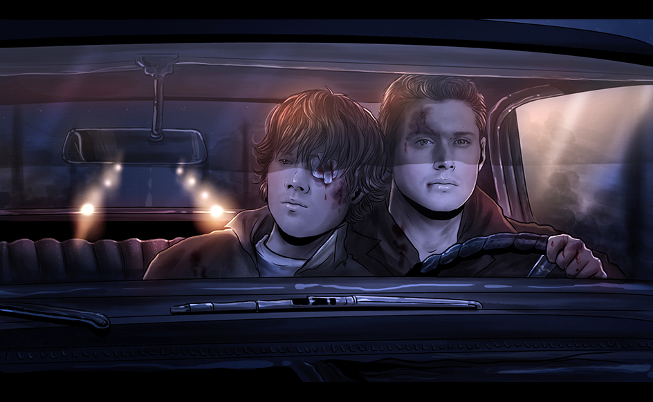 Supernatural wincest art