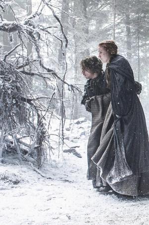 Sansa Stark and Theon Greyjoy- Season 6
