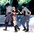 Sasuke,sakura and Sasuke?