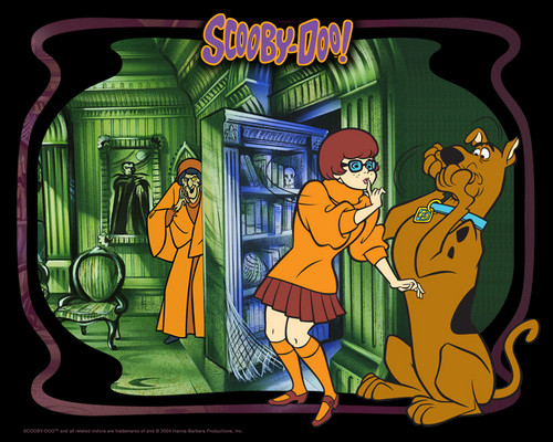 Scooby-Doo wallpaper with anime titled Scooby-Doo wallpaper