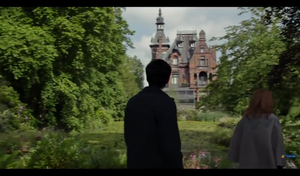 Screencap Miss Peregrine's nyumbani for Peculiar Children Trailer