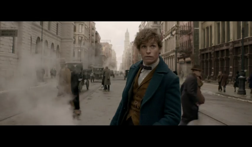 Fantastic Beasts and Where to Find Them wallpaper with a business suit and a strada, via titled Screencaps - Fantastic Beasts and Where to FindThem Teaser Trailer