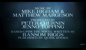 Screencaps Miss Peregrine's home pagina For Peculiar Children Trailer
