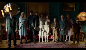 Screencaps Miss Peregrine's nyumbani For Peculiar Children Trailer