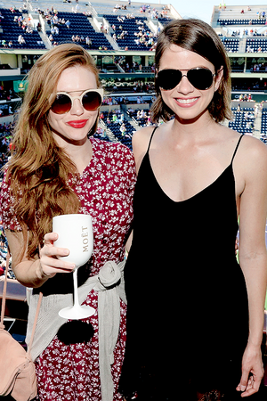 Shelley Hennig and Holland Roden