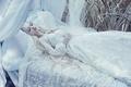Sleeping beauty - daydreaming photo