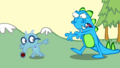 Sniffles and (Banjo Frenzy)Lumpy - happy-tree-friends fan art