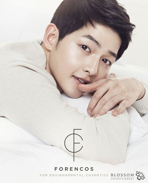 Song Joong Ki is now the face of cosmetics brand 'Forencos'