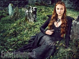 Sophie Turner as Sansa Stark Entertainment Weekly Portrait