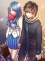 Sousuke and Kaname フルメタル・パニック!