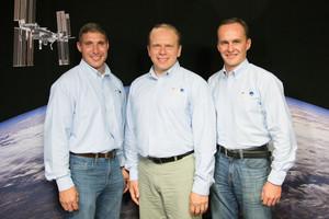 Soyuz TMA 10M Mission Crew