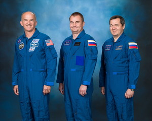 Soyuz TMA M20 Mission Crew
