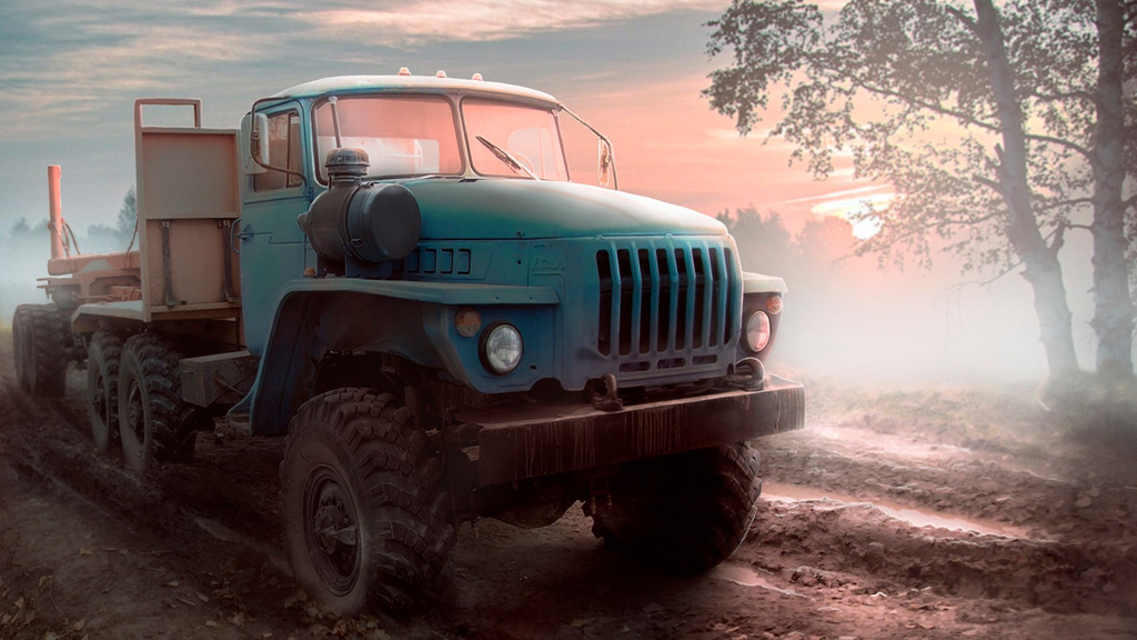 Spintires Ural 4320 Russian Trucks Photo 39414041 Fanpop